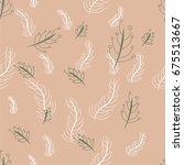 vector seamless pattern  | Shutterstock .eps vector #675513667