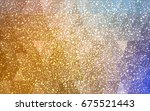 light blue  yellow vector...   Shutterstock .eps vector #675521443