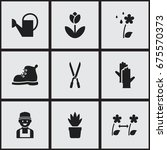 set of 9 editable agriculture...