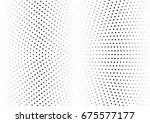 abstract halftone dotted... | Shutterstock .eps vector #675577177
