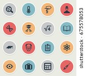 vector illustration set of... | Shutterstock .eps vector #675578053