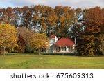 Golf House In Autumn