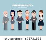 business character  | Shutterstock .eps vector #675731533