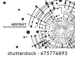 technology background. abstract ... | Shutterstock .eps vector #675776893