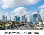 dubai  united arab emirates  ... | Shutterstock . vector #675810007