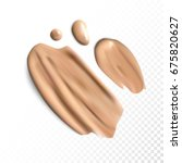 cosmetic concealer smear