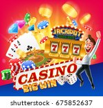 casino gold | Shutterstock .eps vector #675852637