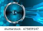future technology  blue eye