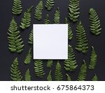 artistic mockup for your... | Shutterstock . vector #675864373
