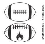 american football vector | Shutterstock .eps vector #675881023