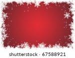 christmas background | Shutterstock . vector #67588921
