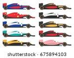Set Of Formula 1  One  Racing...
