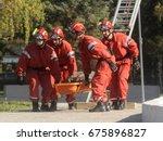 belgrade  serbia   circa...   Shutterstock . vector #675896827