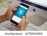 chiang mai  thailand   july 12... | Shutterstock . vector #675901003