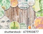 Dollar  Yuan  Euro And Ruble...