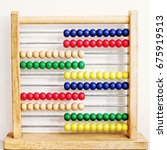 Small photo of Wooden Abacus for kids