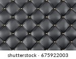 leather upholstery sofa... | Shutterstock . vector #675922003