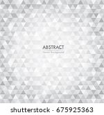 design geometric background.... | Shutterstock .eps vector #675925363