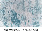 white and blue grunge wood... | Shutterstock . vector #676001533