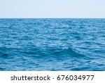 abstract blue water sea for... | Shutterstock . vector #676034977