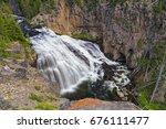 Beautiful Gibbon Falls In...