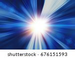 high speed business and... | Shutterstock . vector #676151593