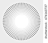 halftone vector illustration | Shutterstock .eps vector #676163737