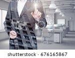 a successful business concept | Shutterstock . vector #676165867