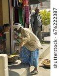 fruit seller nepal  pokhara  ...