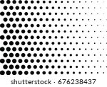 abstract halftone dotted... | Shutterstock .eps vector #676238437