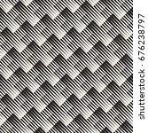 vector seamless geometric... | Shutterstock .eps vector #676238797