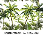 beautiful seamless vector... | Shutterstock .eps vector #676252603