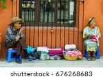 oaxaca  mexico  march 4  old... | Shutterstock . vector #676268683
