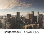 downtown vancouver skyline | Shutterstock . vector #676316473