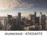 Stock photo downtown vancouver skyline 676316473