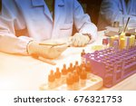 close up hand of medical...   Shutterstock . vector #676321753