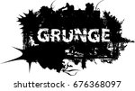 grunge banners  insignias... | Shutterstock .eps vector #676368097