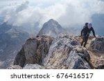 mt. triglav  slovenia   3.9... | Shutterstock . vector #676416517
