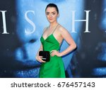 Small photo of Maisie Williams at the HBO's 'Game Of Thrones' Season 7 premiere held at the Walt Disney Concert Hall in Los Angeles, USA on July 12, 2017.