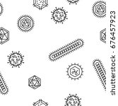 repeating seamless pattern of...   Shutterstock .eps vector #676457923