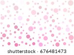light pink  yellow vector... | Shutterstock .eps vector #676481473