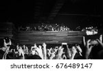 moscow   12 july 2017  concert... | Shutterstock . vector #676489147