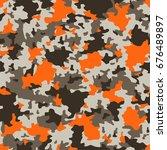 vector seamless pattern....   Shutterstock .eps vector #676489897