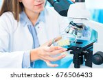 quality control for processed... | Shutterstock . vector #676506433