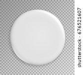 blank white badge vector.... | Shutterstock .eps vector #676521607