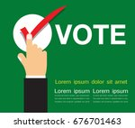 Hand Touch   Vote Title Button