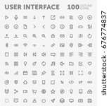 pack of 100 outlined user...