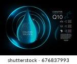cosmetics solution.  supreme... | Shutterstock .eps vector #676837993