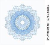 light blue passport rossete | Shutterstock .eps vector #676858063
