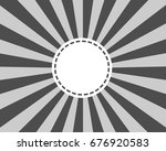 circular light scattered behind | Shutterstock .eps vector #676920583